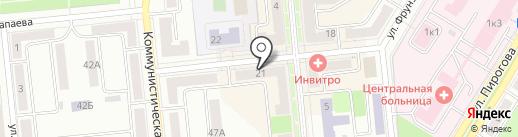 Поволжский банк Сбербанка России на карте Новокуйбышевска