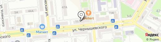 Аптека на карте Новокуйбышевска