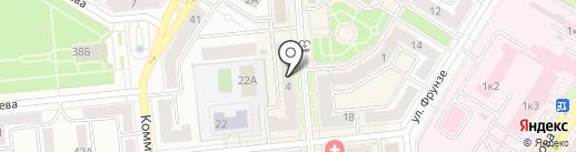 Мегафон на карте Новокуйбышевска