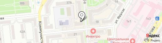 Билайн на карте Новокуйбышевска