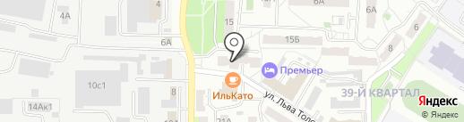 Общежитие, ЖУК на карте Новокуйбышевска