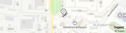 Библиотека №2 на карте Новокуйбышевска