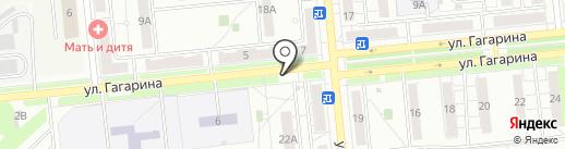 Киоск по ремонту обуви на карте Новокуйбышевска