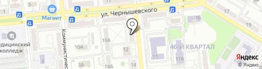 Семь+Я на карте Новокуйбышевска