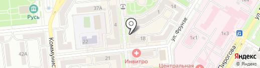 Евросеть на карте Новокуйбышевска
