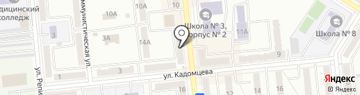 Самарянин Плюс на карте Новокуйбышевска