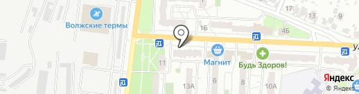 Пивной рай на карте Новокуйбышевска