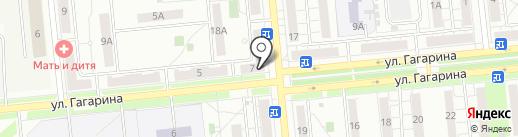Почтовое отделение №8 на карте Новокуйбышевска