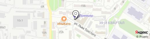 Домовой, ТСЖ на карте Новокуйбышевска