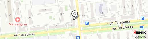 Магазин овощей и фруктов на ул. Миронова на карте Новокуйбышевска