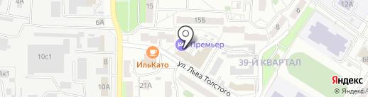 2x2 на карте Новокуйбышевска