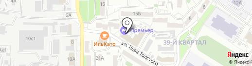 МонополиЯ на карте Новокуйбышевска