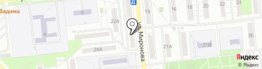 АвтоStop на карте Новокуйбышевска