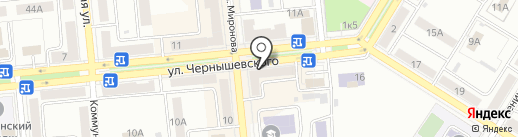 Привозъ на карте Новокуйбышевска