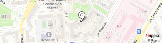 Джентльмен на карте Новокуйбышевска