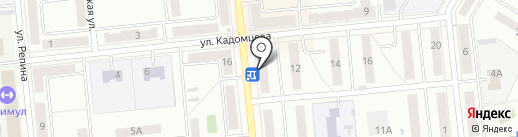 Алия-Фарм на карте Новокуйбышевска