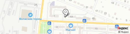 Презент на карте Новокуйбышевска