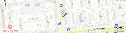Учебно-курсовой комбинат механизаторов на карте Новокуйбышевска
