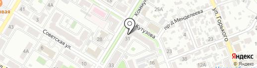РУССКИЙ ДОМ на карте Новокуйбышевска