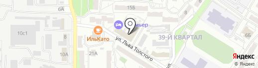 Чистый Дом на карте Новокуйбышевска