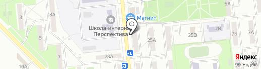 Оконные Технологии на карте Новокуйбышевска