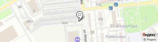 Авто стиль на карте Новокуйбышевска