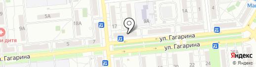 РОЗОМЕЛИЯ на карте Новокуйбышевска