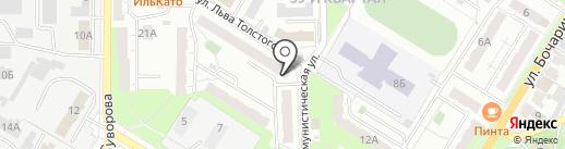 Квартал 39 на карте Новокуйбышевска