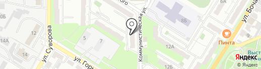 Диагностический центр на карте Новокуйбышевска