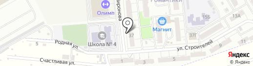 Боевое Братство на карте Новокуйбышевска