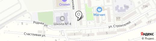 Глория на карте Новокуйбышевска