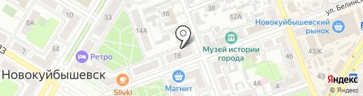 Блеск на карте Новокуйбышевска