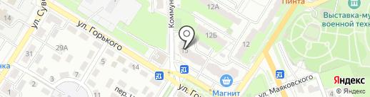 Союзный-С на карте Новокуйбышевска