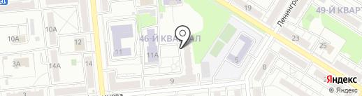 УФК на карте Новокуйбышевска