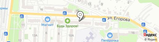 ТОКО на карте Новокуйбышевска