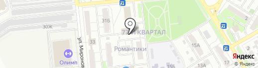 7 Небо на карте Новокуйбышевска