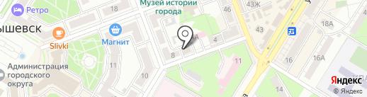 Ремонтная мастерская на карте Новокуйбышевска