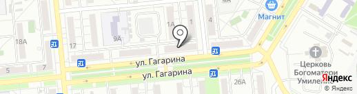 Мебельный салон на карте Новокуйбышевска