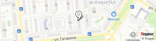 Всероссийское общество инвалидов на карте Новокуйбышевска