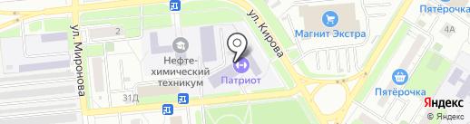 Патриот на карте Новокуйбышевска