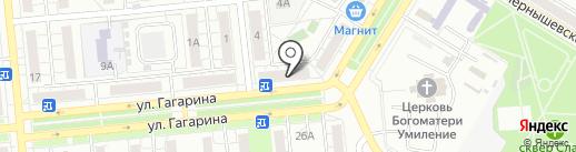 Пивной бутик №1 на карте Новокуйбышевска