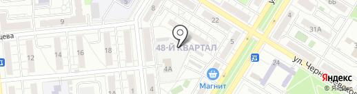 Мир Садовода на карте Новокуйбышевска