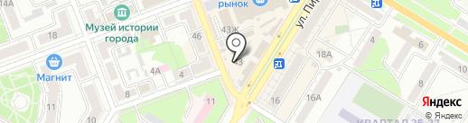 Картель на карте Новокуйбышевска