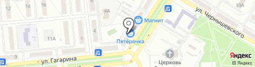ЗигЗаг на карте Новокуйбышевска