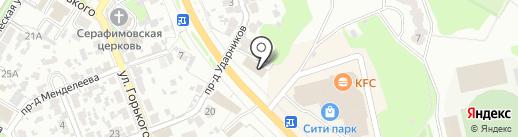 Исходный Код на карте Новокуйбышевска