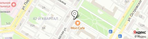 Ольга и К на карте Новокуйбышевска