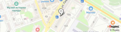 Победа на карте Новокуйбышевска