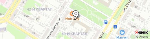 Техномаркет МК на карте Новокуйбышевска