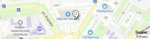 Tele2 на карте Новокуйбышевска