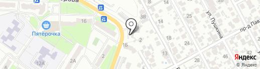 AUTOLUX на карте Новокуйбышевска
